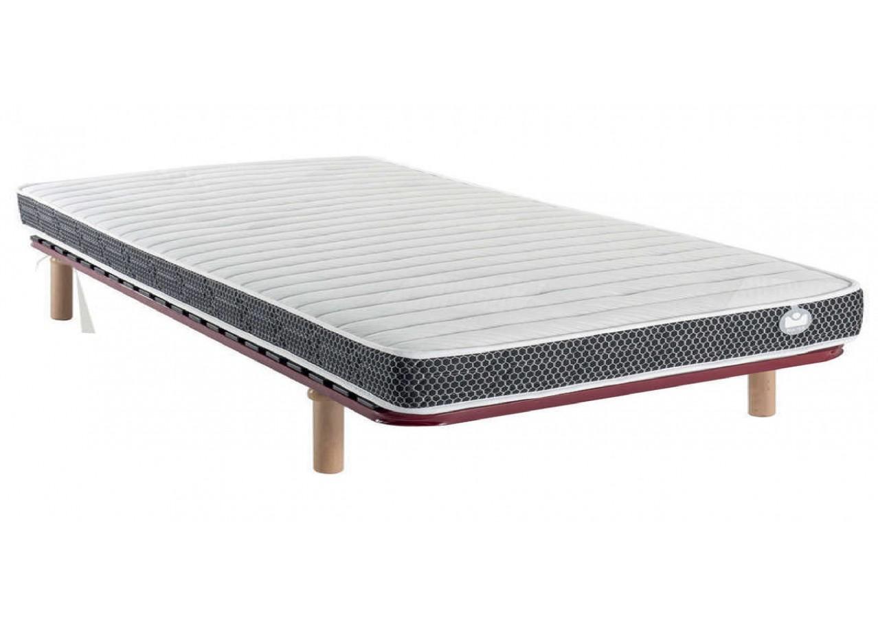 Rent bed confort 140 x 190 cm beds rental get furnished - Bed cm ...