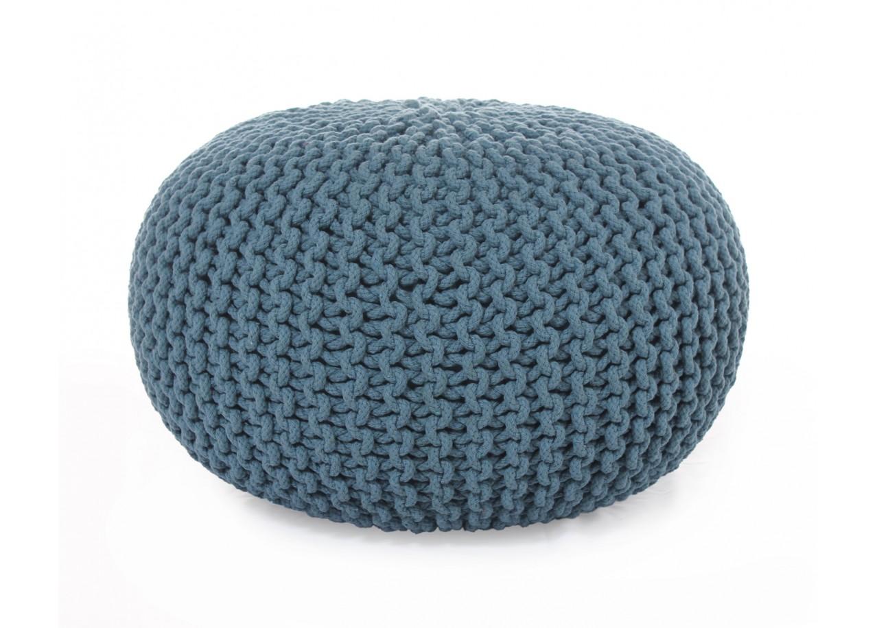 location pouf en tissu rock. Black Bedroom Furniture Sets. Home Design Ideas