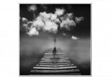 Pont du rêve - 50 x 50 cm