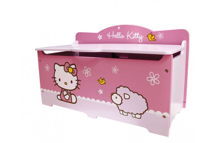 Hello Kitty Toy Chest : Rent toy box hello kitty rental get furnished