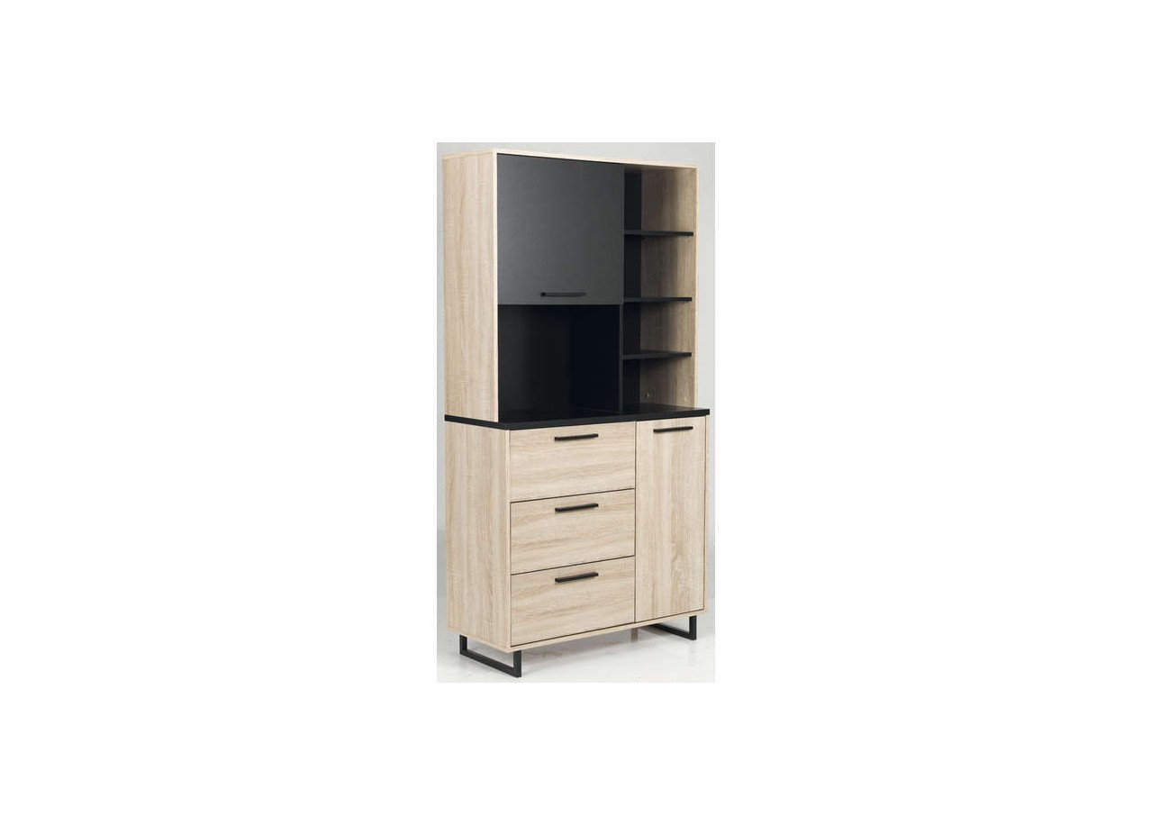 location meuble cuisine en bois cocino. Black Bedroom Furniture Sets. Home Design Ideas