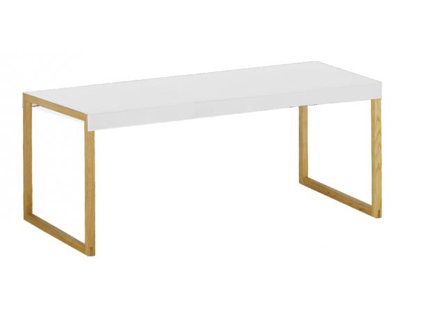 Table basse KARMA Blanc Rectangulaire