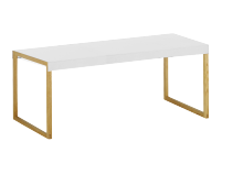 Table basse KARMA Blanc Rectangulaire