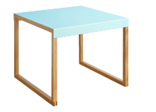 Blue YOGA table