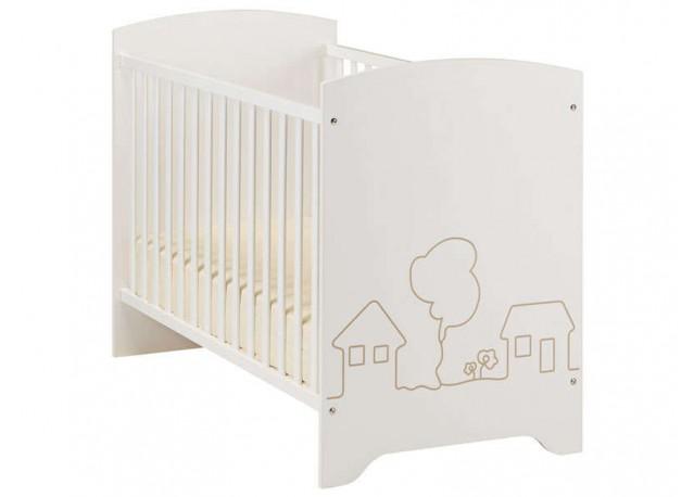 Baby crib LITTLE CITY - 60 x 120 cm