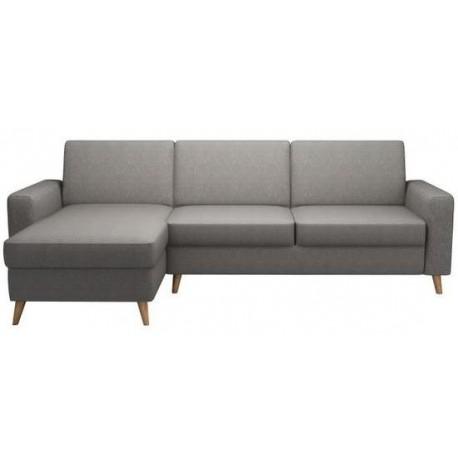 Canapé d'angle réversible DEXTER Gris