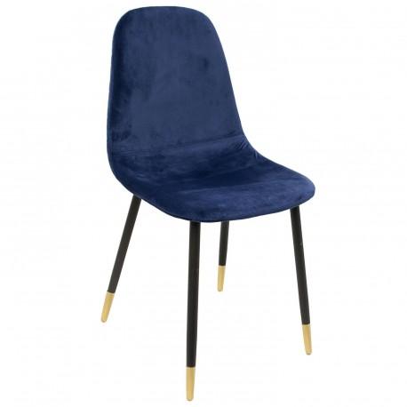 Chaise VOLGA Bleu