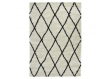 Rug ALTO Beige and brown - 120 x 170 cm