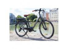 """Vélo électrique Essentielb URBAN 600 28"""" Gris/Noir"""