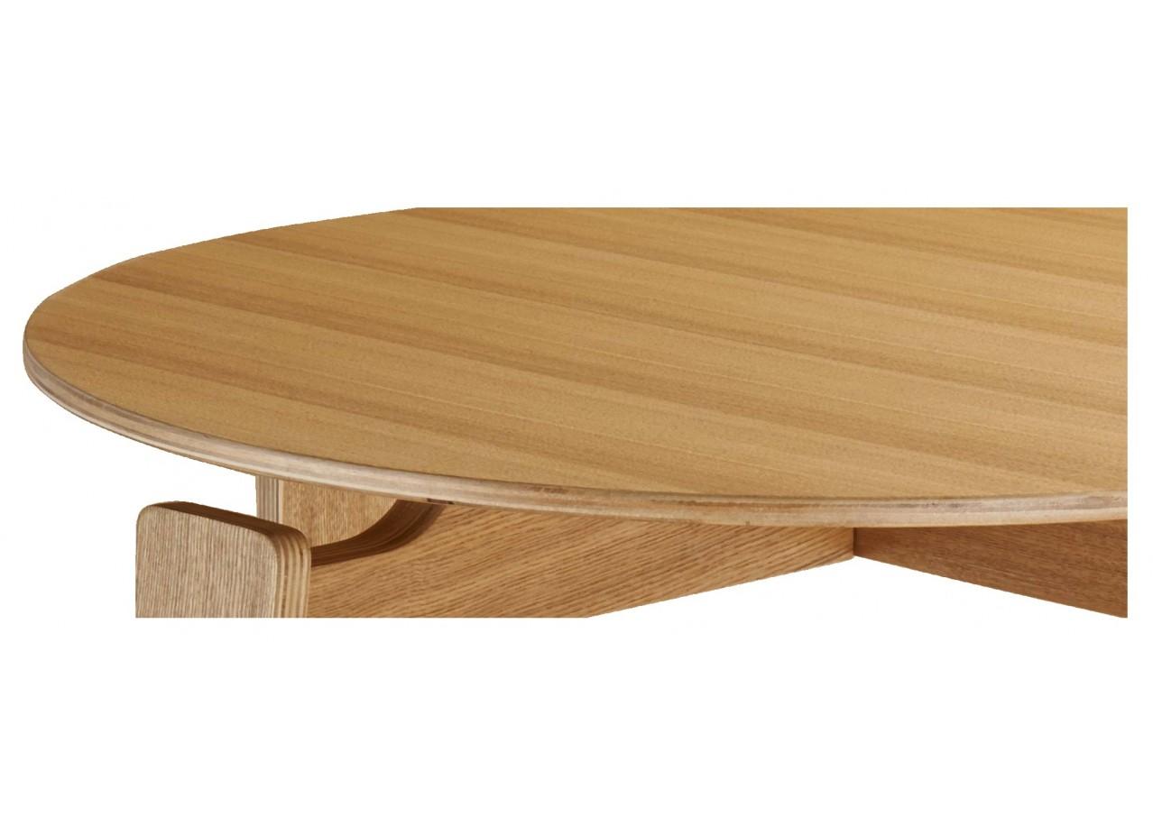 location table basse en ch ne holy. Black Bedroom Furniture Sets. Home Design Ideas