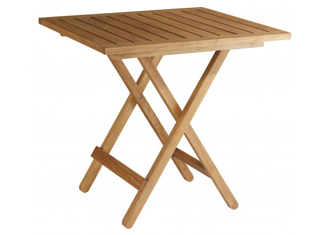 Rent terrace table cloe terrace tables rental get - Table de jardin en bois pliante ...